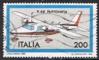 Italy SG1716 1981 Italian Aircraft (1st series) 200l good/fine used